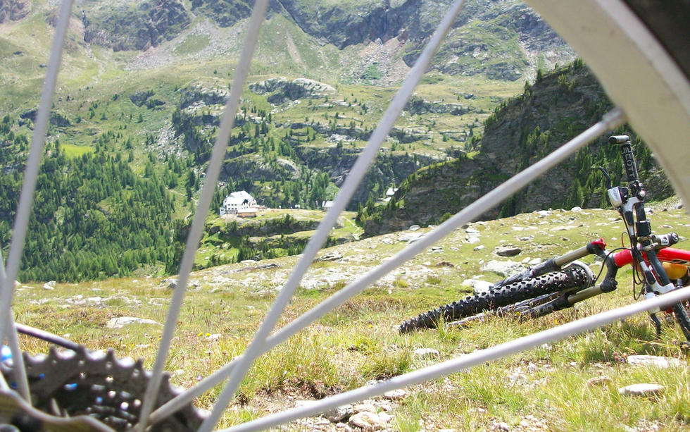 Mountainbiken in der Schweiz unter Singles