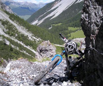 Mountainbikeurlaub für Singles in den Bergen