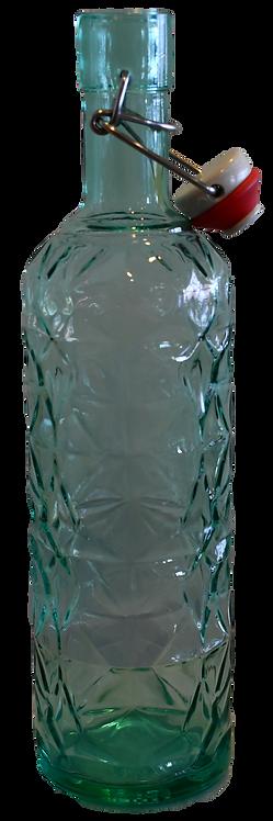Wasserkaraffe AVIVA 1 Liter grün mit Bügelveschluss