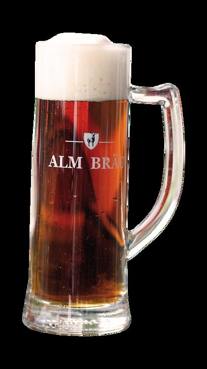 Bierglas AVIVA mit Henkel 1/3 Liter