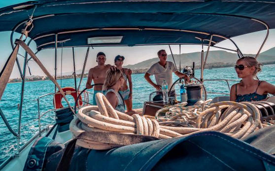 Segelurlaub für Singles in Griechenland