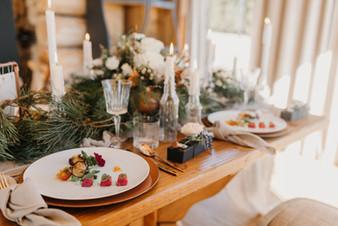 Hochzeitsmenü auf der AVIVA Alm in Oberösterreich