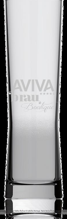 Bierglas AVIVA Brau-Boutique 1/2 Liter