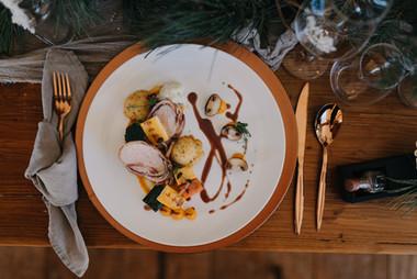 Hauptspeise bei Hochzeitsmenü im Mühlviertel | AVIVA Alm