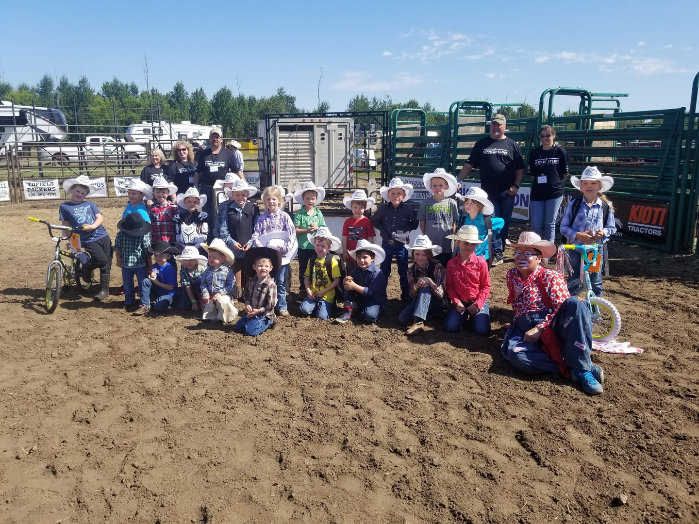 Kid's Rodeo contestants