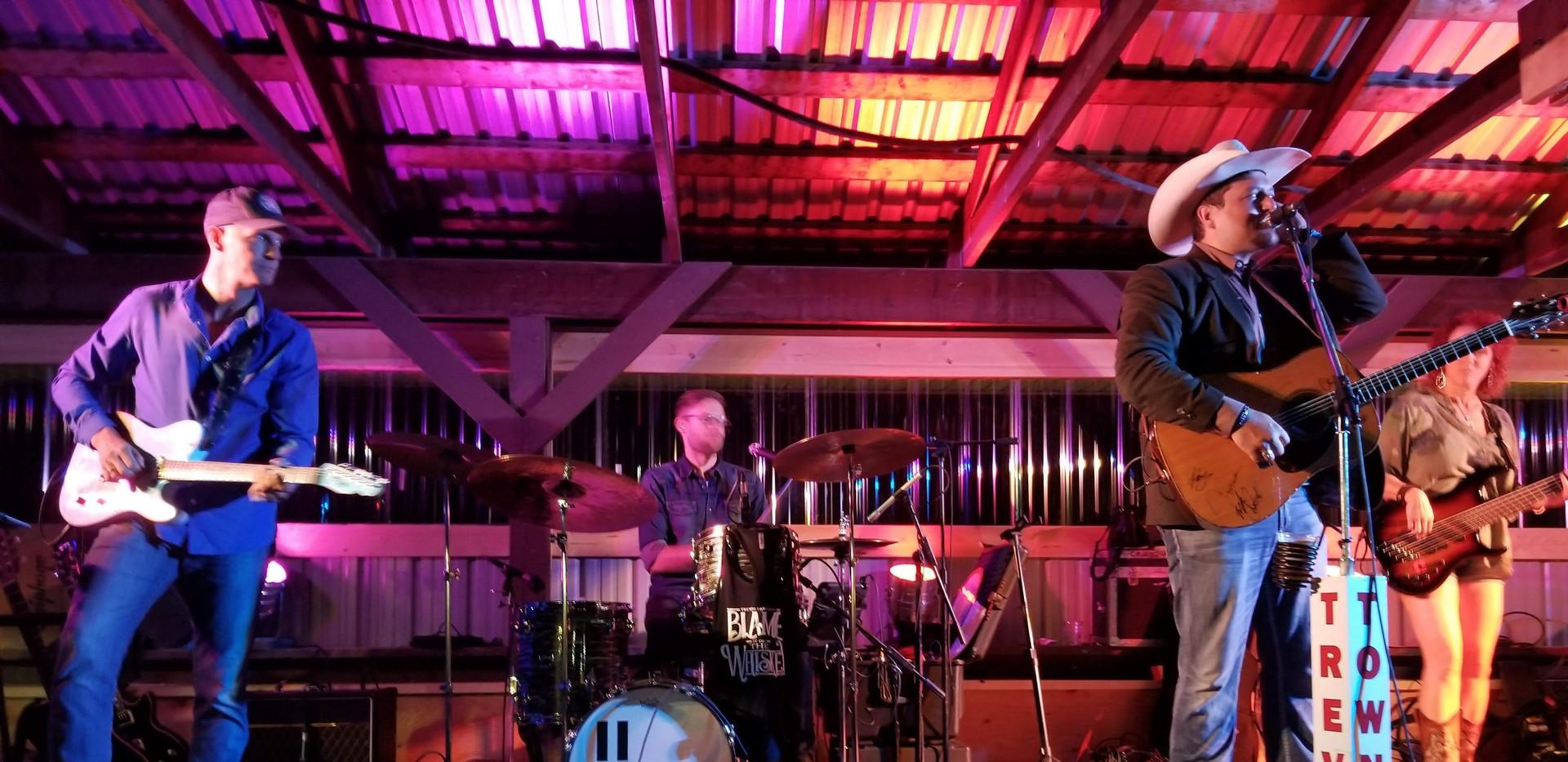 Trevor Panczak performs