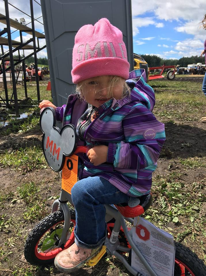 Kid's rodeo bike winner