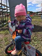 Kid's rodeo bike winner