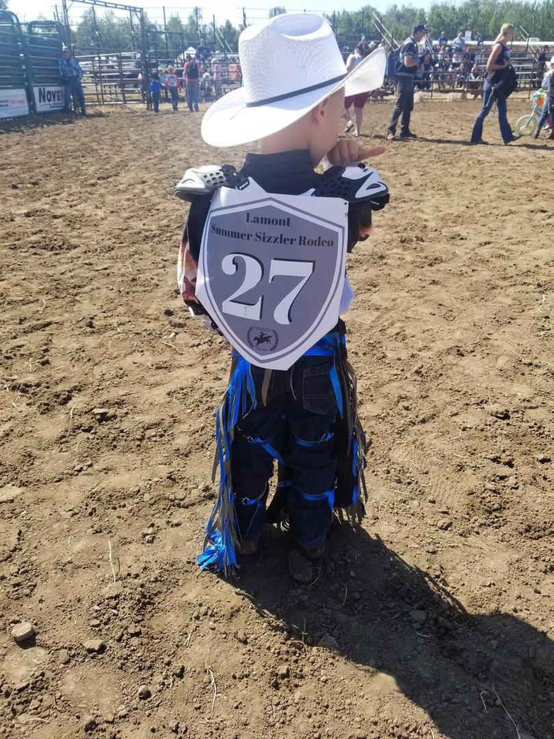 Kid's Rodeo Contestant #27