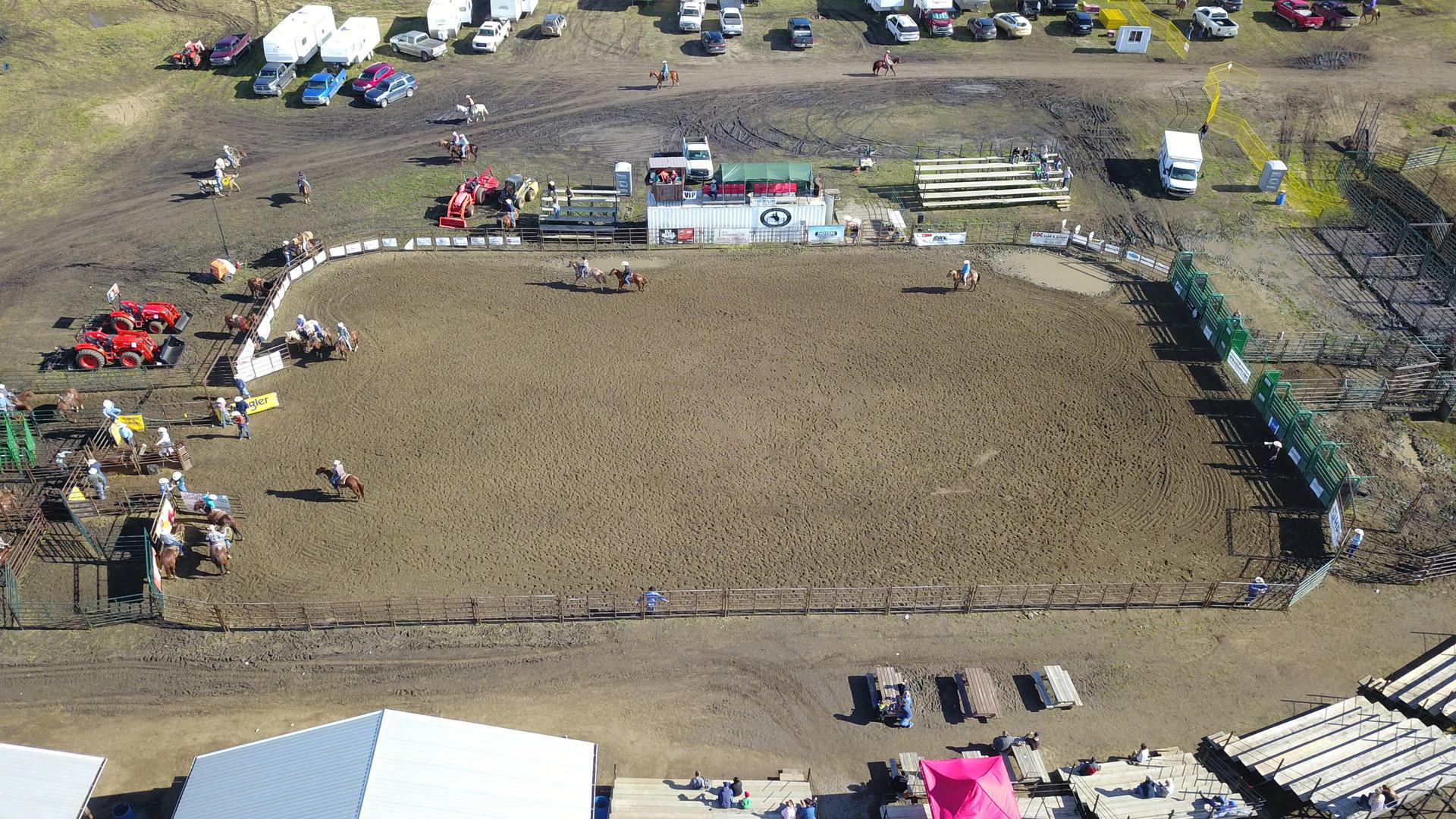 Rodeo arena