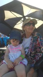 Lifetime member Donna Carter with a junior member