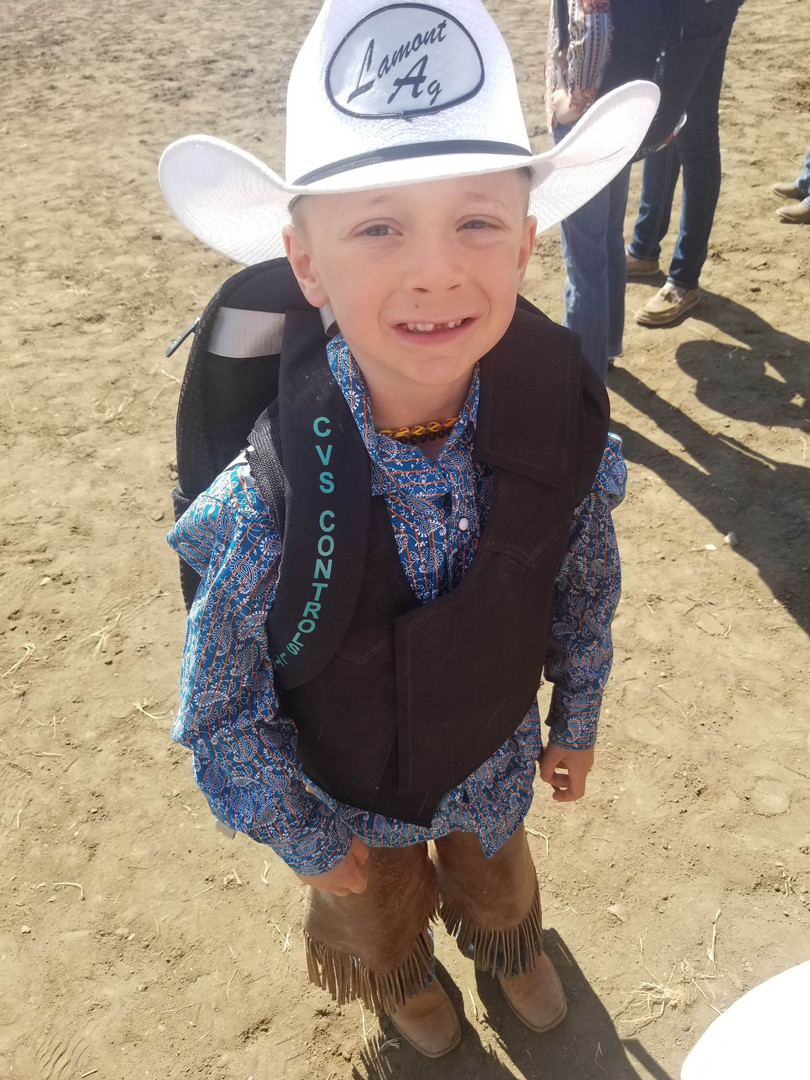 Kid's Rodeo Contestant