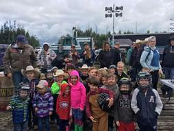 Kid's Rodeo contestants