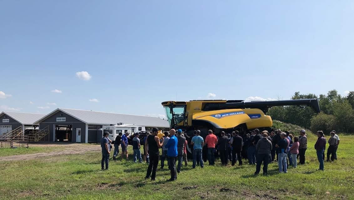 Webb's Machinery Combine Clinic