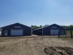 Enclosed barns