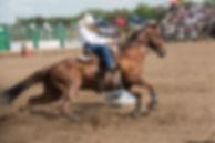 Lamont Rodeo Barrel Racing
