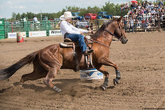 Lamont Rodeo Barrel Racing