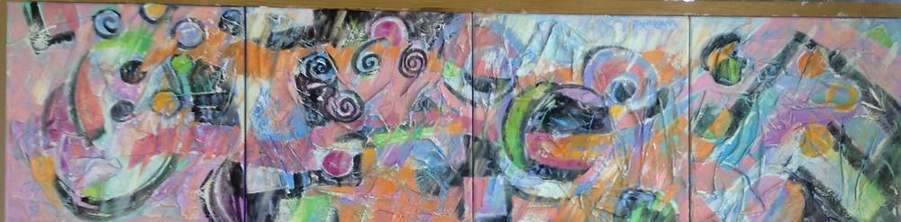 calypso abstract art
