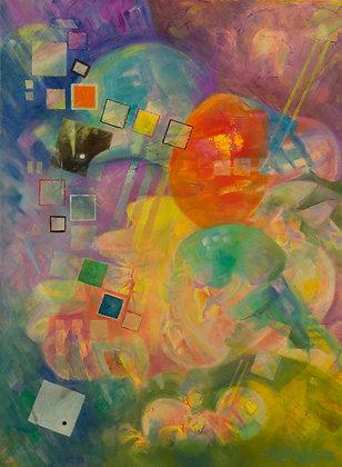 Ecclesiastes 3 - 22x28 Oil on Canvas
