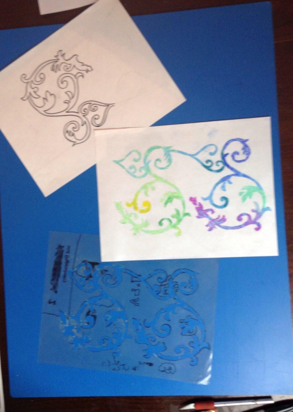 creating stencils