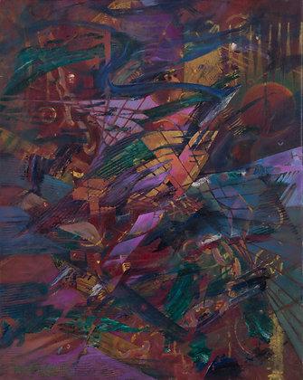 Alantis 1 - 16 x 20 - Oil on Canvas