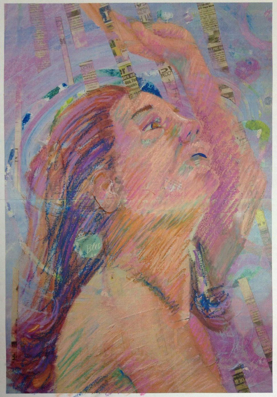 oil pastel study