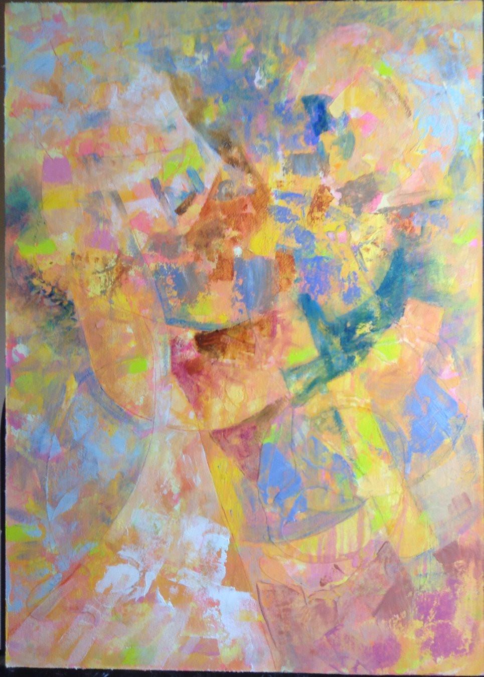 earth tone abstract art