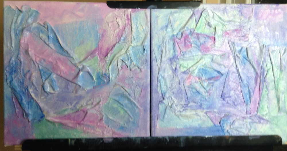 thin oil paint with turpentine