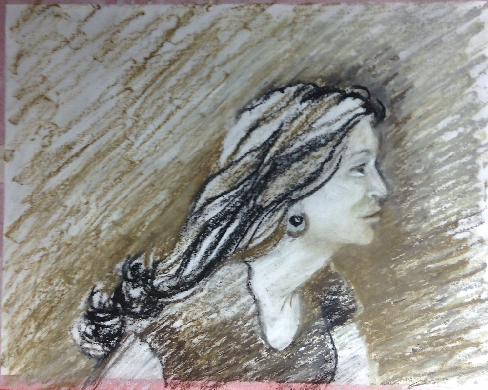 young woman's portrait