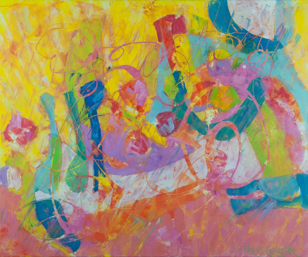 homecoming son abstract art