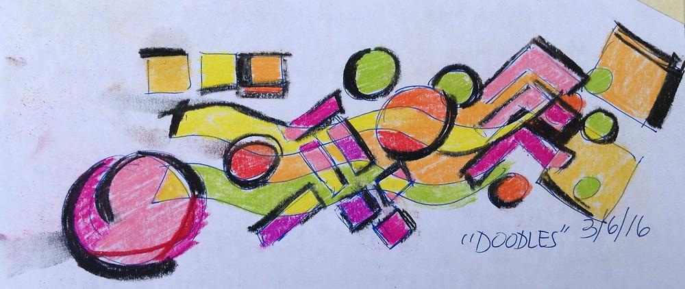 pastel color study