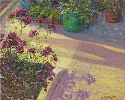 Garden Path - 20x16 - Oil on Canvas
