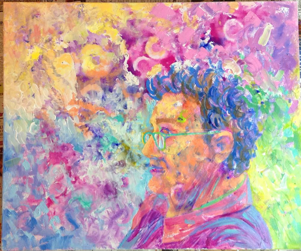 impressionist portrait