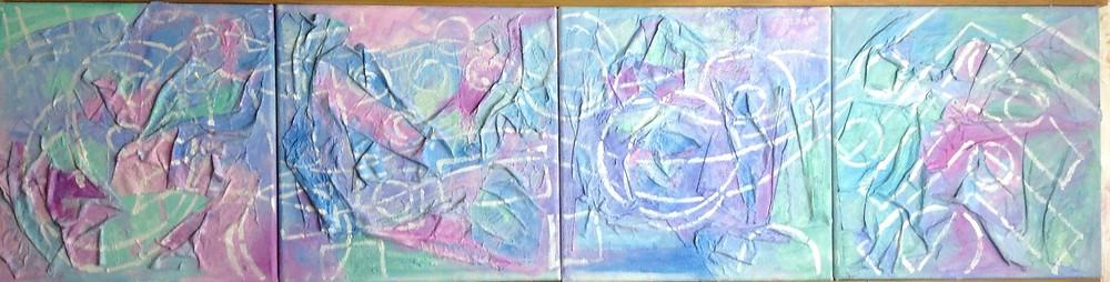 "12"" square artwork"