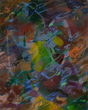 Atlantis 2 - 16 x 20 - Oil on Canvas