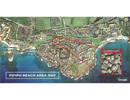 Po'ipu Beach Map