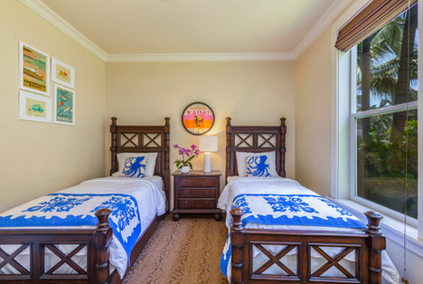 Third Bedroom Twin Beds