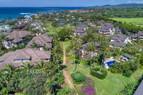 Poipu Villas Aerial View