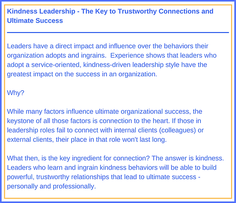 Kindness Leadership - The Key to Trustwo
