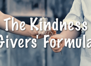 The Kindness Givers' Formula Helps Restore Light, Love, Unity and Peace