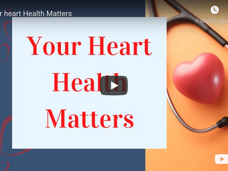 You're Heart Health Matters - Liz Jones - LinkedIn Live: March 1, 2021