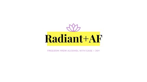 Radiant AF -Online Group Coaching Programme
