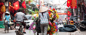 A street in Vietnam