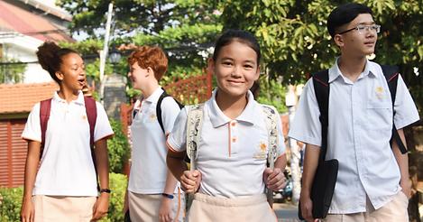 International school in Asia
