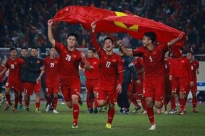The Vietnamese football team