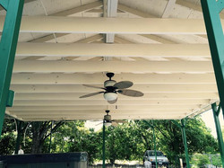 Painted Exterior Porch Ceiling