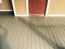 Painted Porch Deck