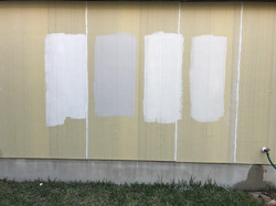 Exterior Color Samples on Siding