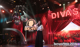 """MULHERES QUE BRILHAM 2015 - """"Divas do Brasil"""" - Programa Raul Gil"""