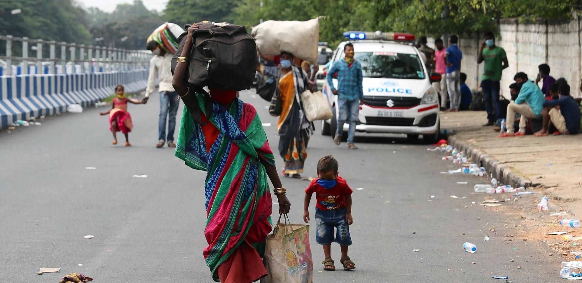 Benguluru, Karnataka, May 23. Jagadeesh NV/ EPA